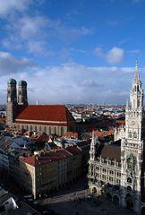 Über die Dächer von München III