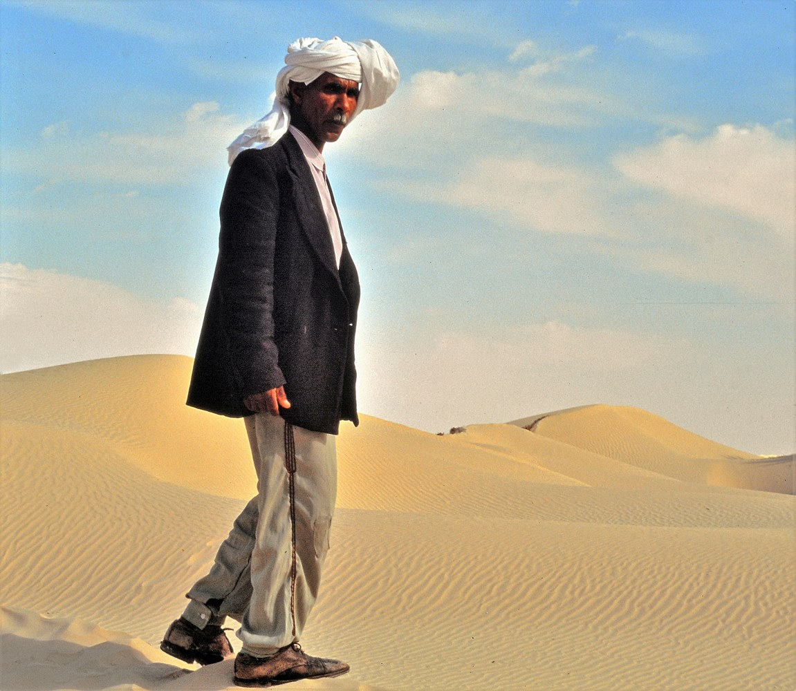 über die Dünen der Sahara