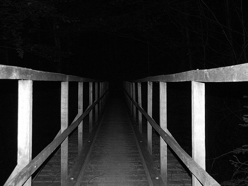 Über diese Brücke mußt du gehn.....
