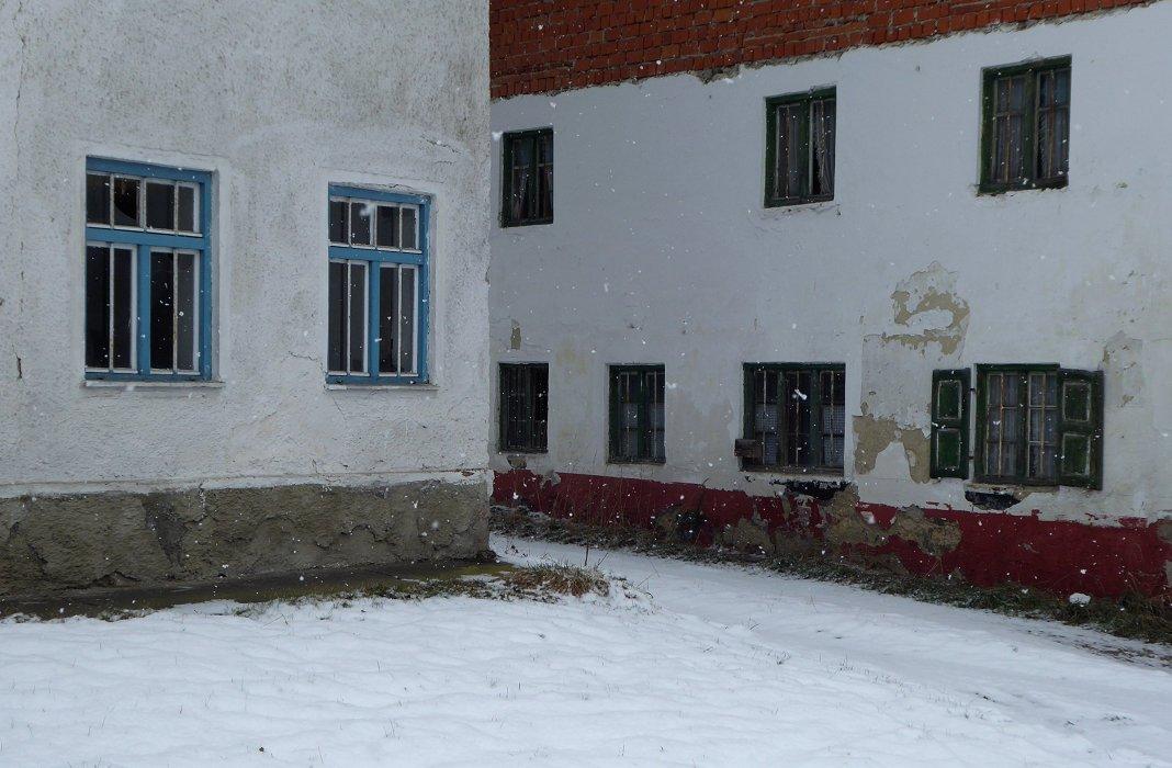ber eck foto bild landschaften fenster winter bilder auf fotocommunity. Black Bedroom Furniture Sets. Home Design Ideas