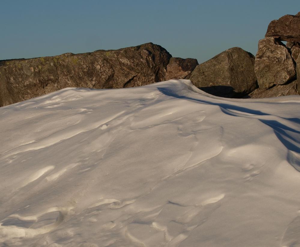 Über Gletscher und Felsen ging der Anstieg ...