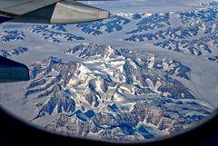 ...  über Grönland  ...