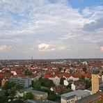 über Hannover...