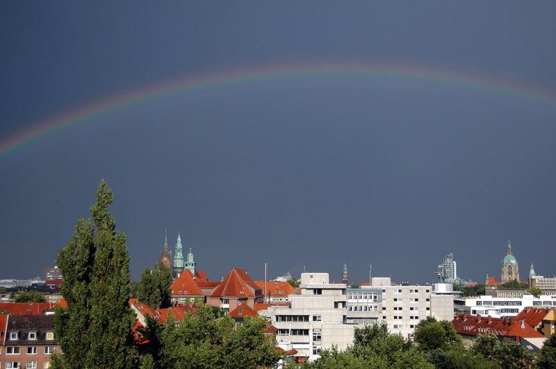Über Hannovers Dächern / Above Hannover´ s Roofs
