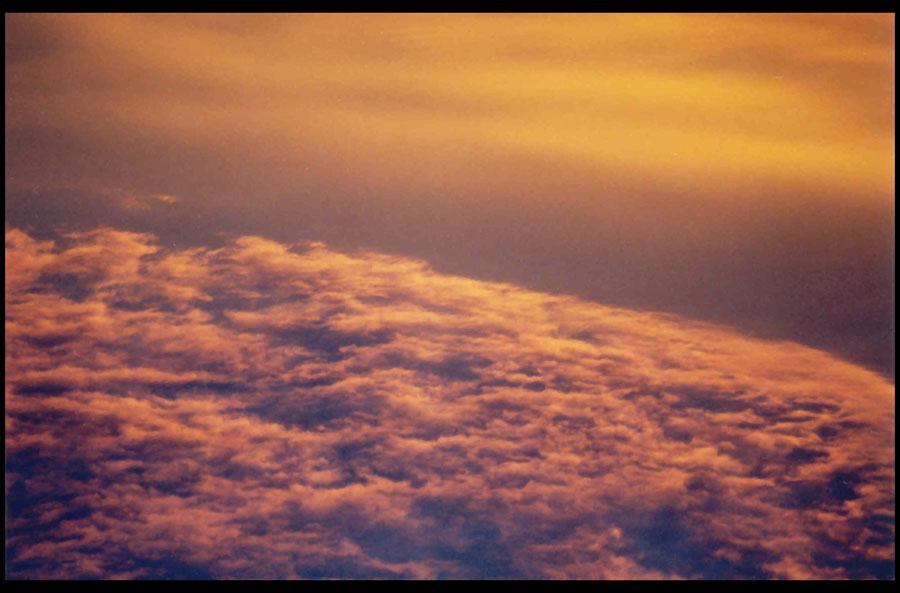 ÜBER? ... oder UNTER den wolken?
