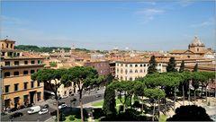 ... über römischen Dächern ...