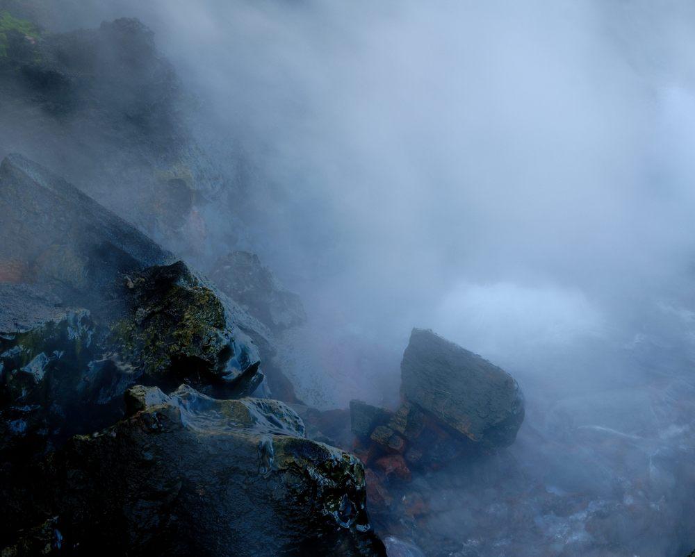 überall dampft, brodelt, zischt und blubbert es in Island
