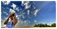 Überall Fotografen...