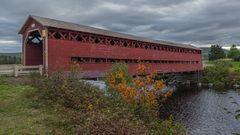 Überdachte Brücken in der Provence Québec