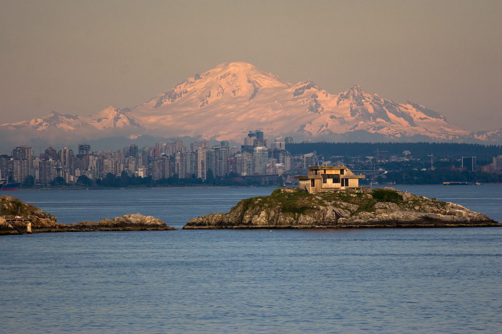 Überfahrt nach Vancouver-Island