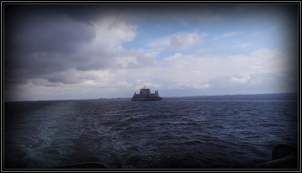 Überfahrt von Dagebüll nach Wyk auf Föhr - im Wattenmeer