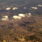Überflug Madrid