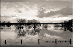 Überflutet ..