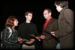 ::Übergabe der Kondolenzbücher:: Initiative von fc-usern für die Opfer in Winnenden
