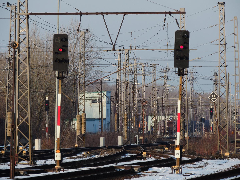 Übergang zur Werkbahn