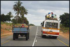 Überholen in Mosambik