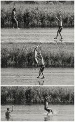 Über´s Wasser zu laufen ...