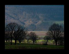 ...übers Wesertal ...auf den Räuscheberg...