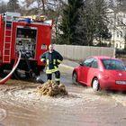 Überschwemmung in Pößneck 2006