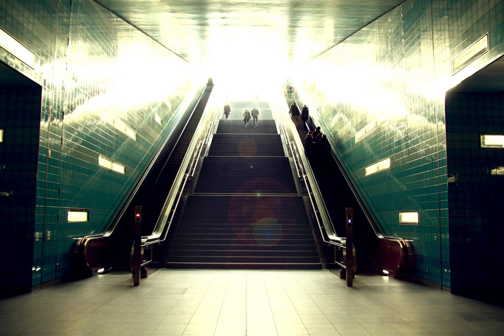 Überseequatier U-Bahn-Hof Hamburg