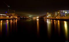 Überseestadt nightview