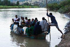 Übervolles Boot...
