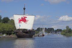 Ueckermünde, die Kogge Piratenschiff ist neu erstellt