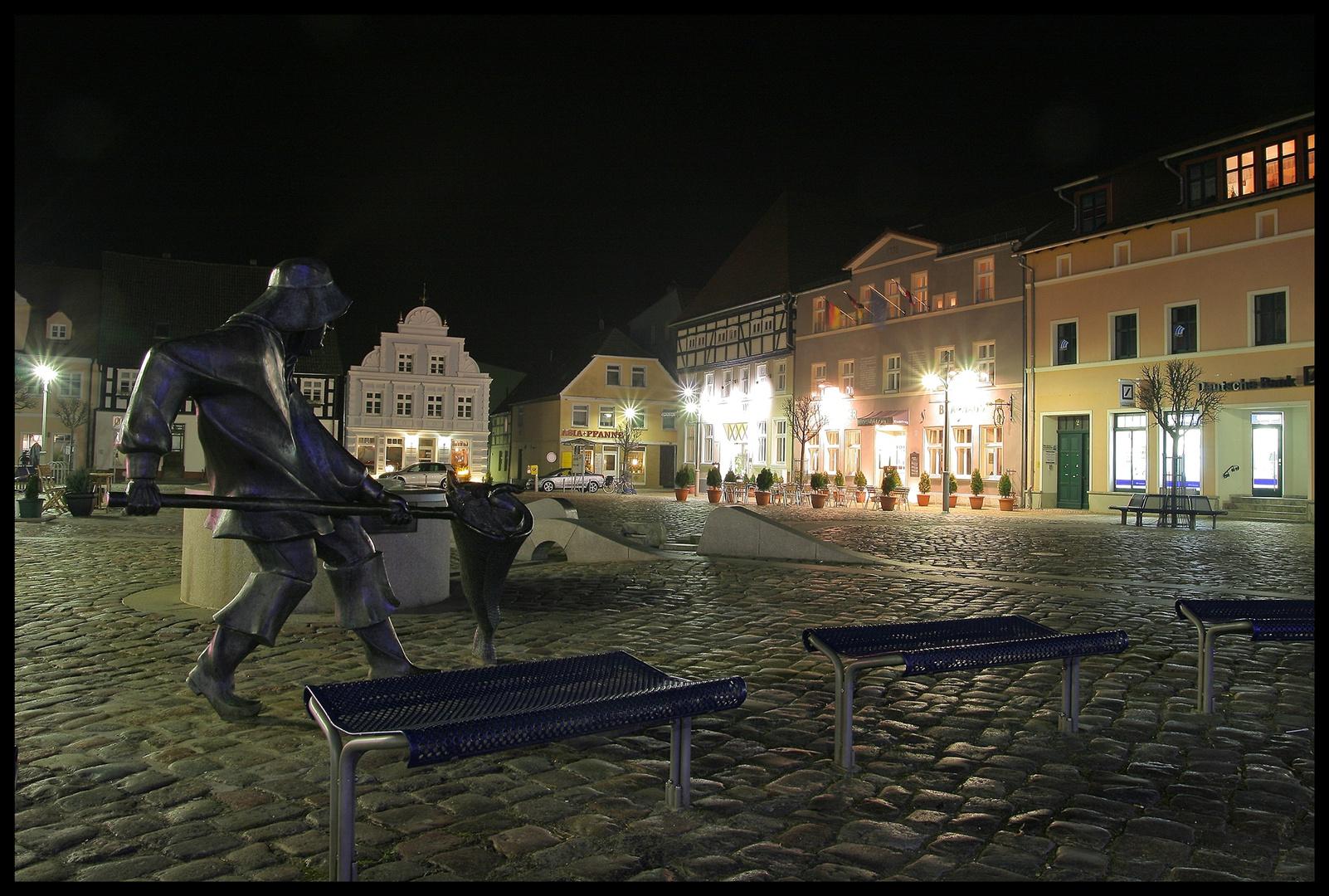 Ueckermünder Marktplatz