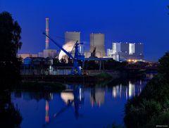 Uentrop Industrieanlagen @ blaue Stunde