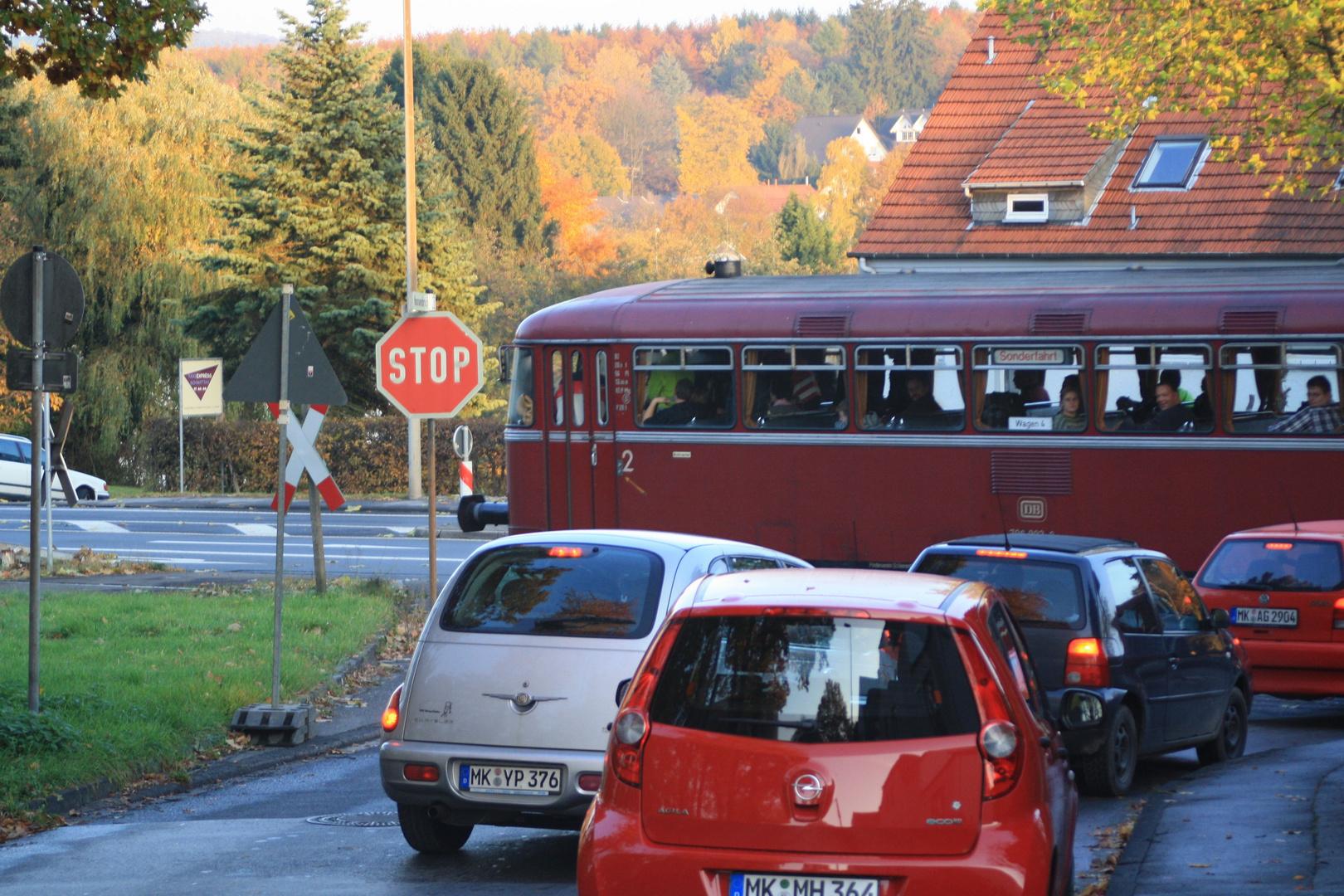 Uerdinger Schienenbus in Menden