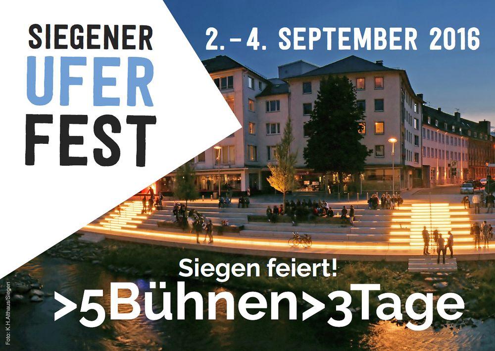 Uferfest-Siegen 2016 - Flyer