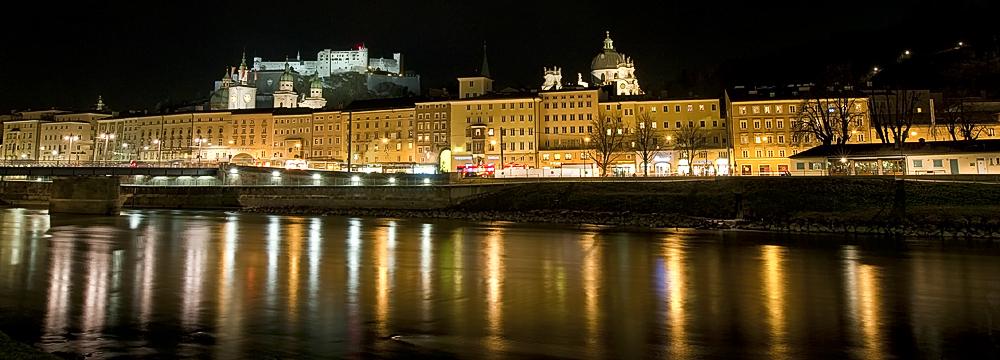 Uferpromenade Salzburg Altstadt