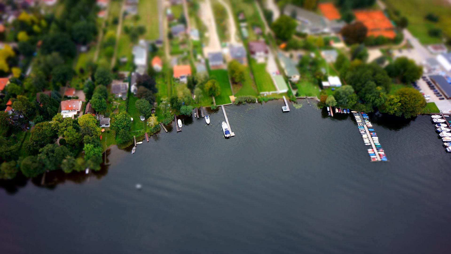 Uferstreifen bei Werder