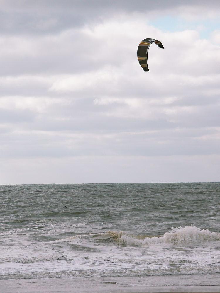 UFO above North-Sea