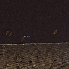 UFO Alarm in Magdeburg Ausschnitt 200%