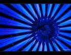 UFO, blau
