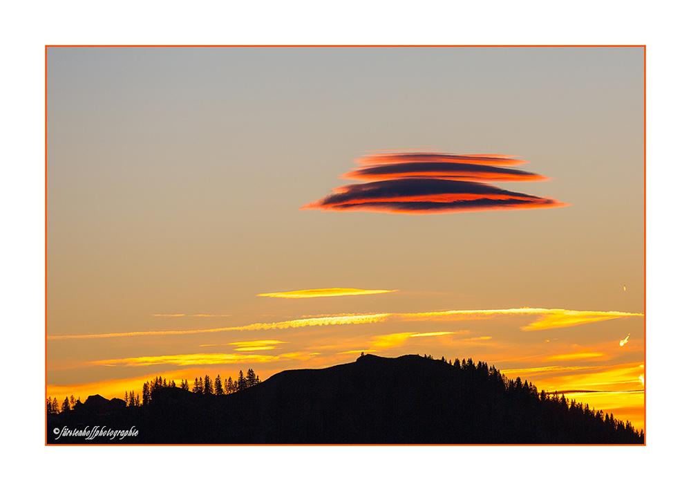 UFO in Sicht