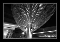 UFO landing place