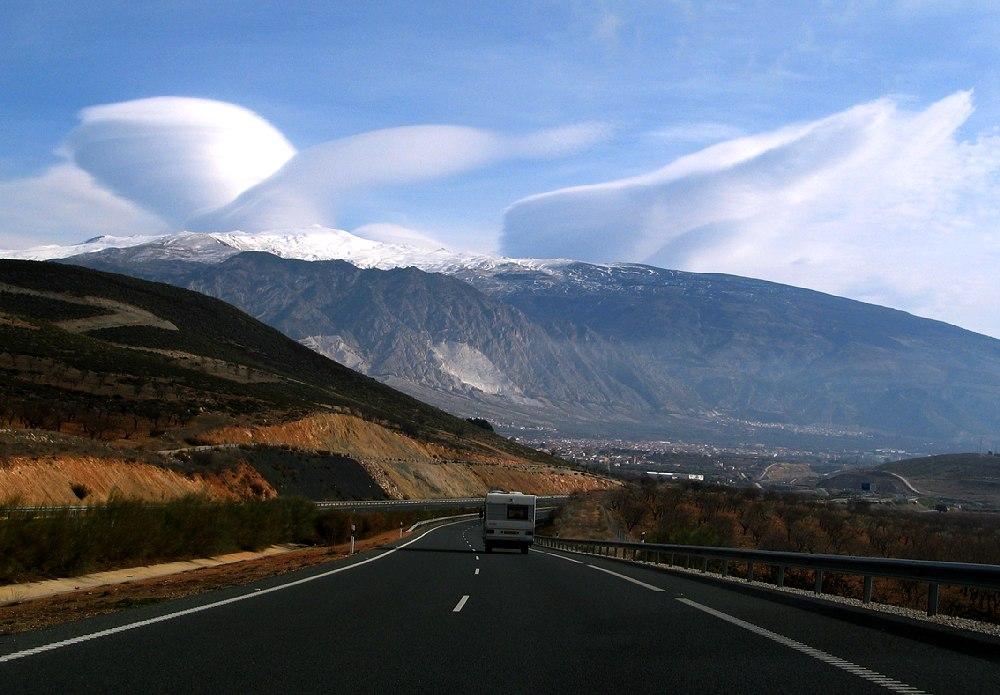 Ufo Wolke (Sierra Nevada / Spanien)