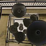 Ufos im Treppenhaus