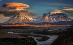 Ufowolken über Patagonien