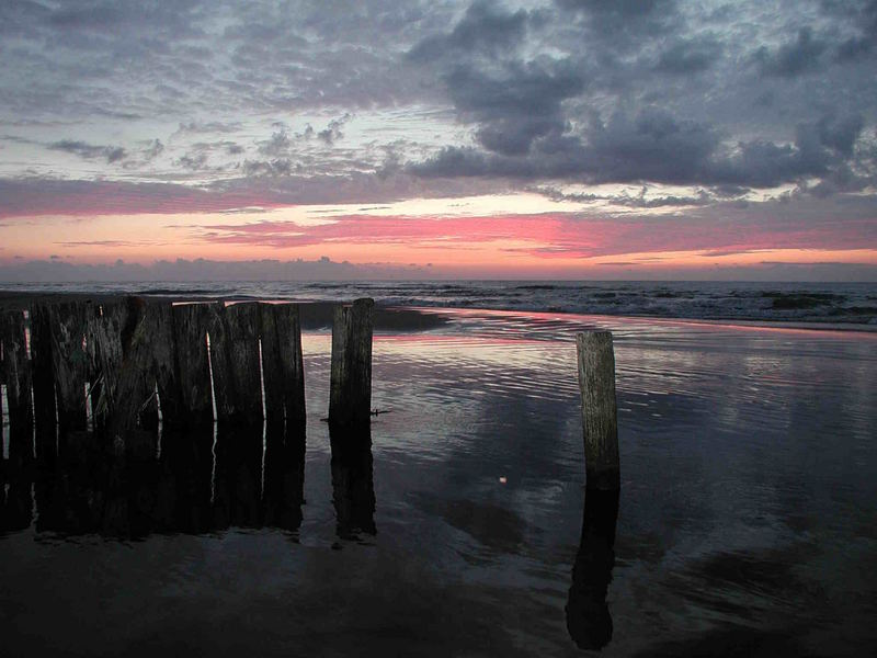 Uggerby solnedgang