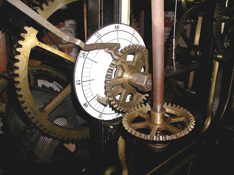 Uhrwerk in St. Katharin in Salzwedel (1)