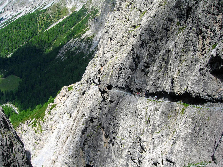Uina Schlucht, Paradies für Mountainbiker und Wanderer