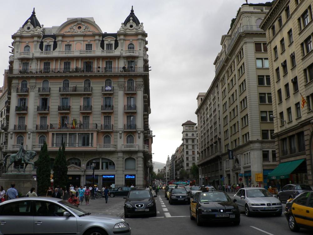 Ulice Barcelony