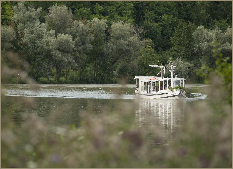 """Ulm - Donau - Friedrichsau - """"riverboat"""""""