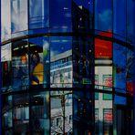 """Ulm - Hirschstrasse - """"Fashion Licht Glas Farbe"""""""