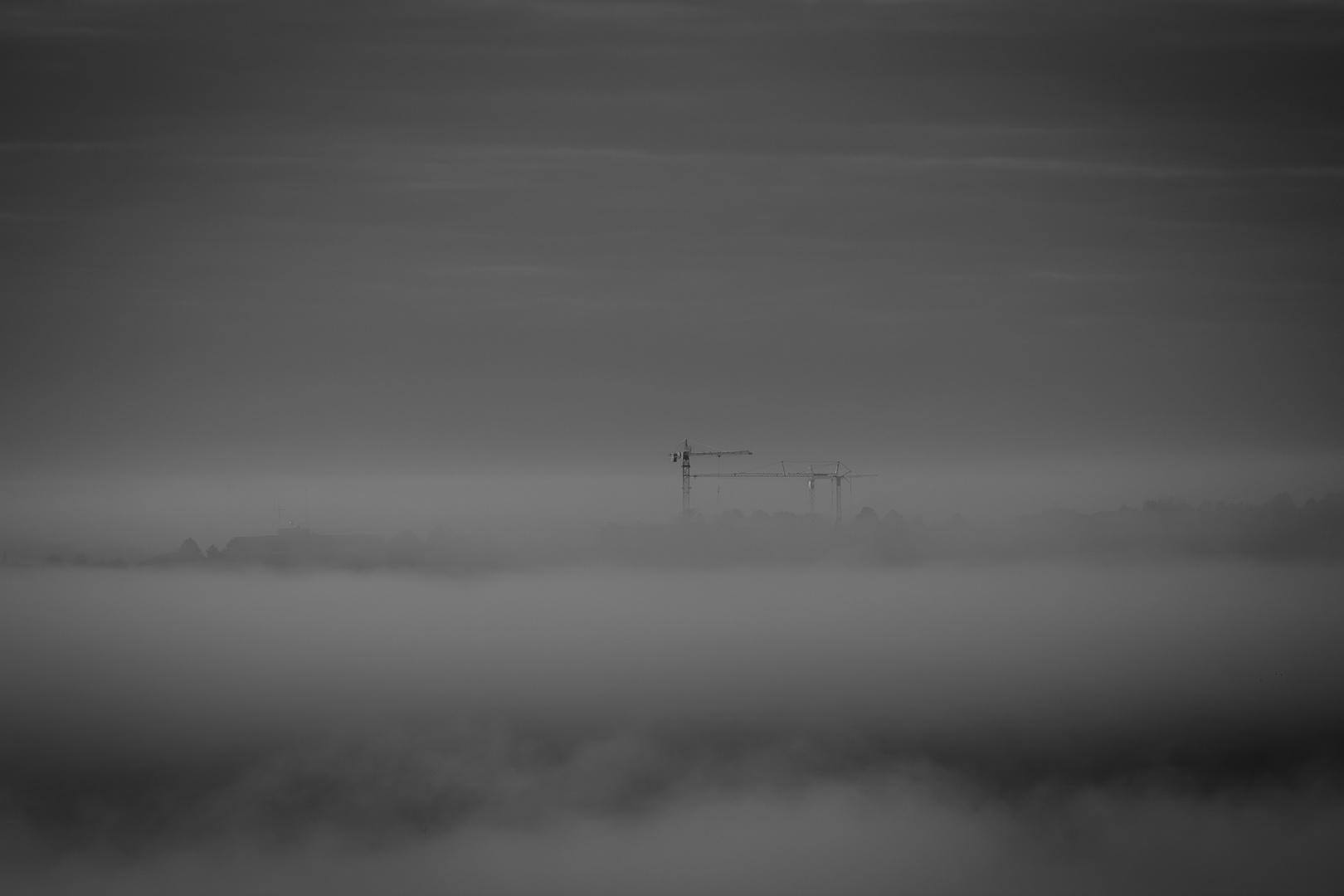 Ulm im Nebel