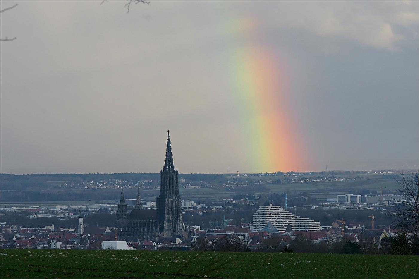 Ulm unterm Regenbogen
