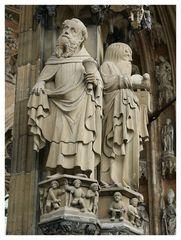 Ulmer Münster: Antonius und Johannes
